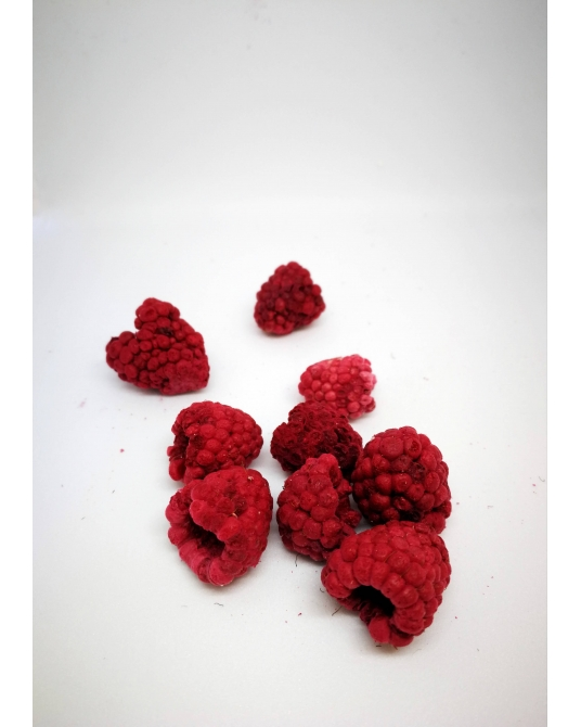 Freeze-dried Raspberries, 30g